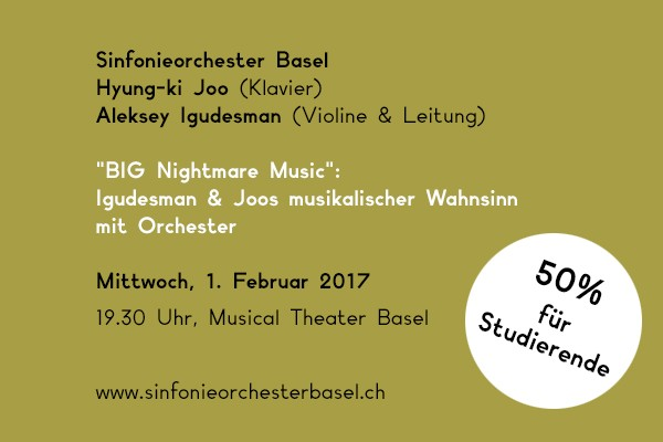 Sinfonieorchester Basel. Comedy meets Classic
